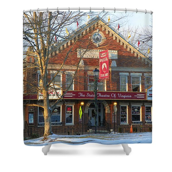 Barter Theatre Shower Curtain by KAREN WILES