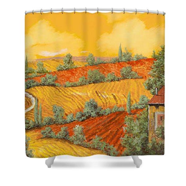 Bassa Toscana Shower Curtain by Guido Borelli