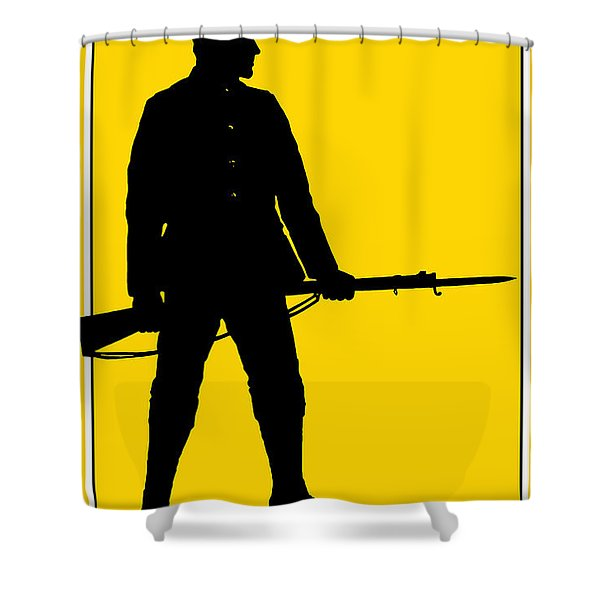 Be Ready - Join Now Shower Curtain by War Is Hell Store