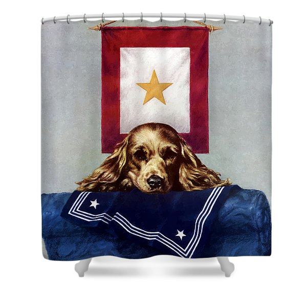 Because Somebody Talked Shower Curtain by War Is Hell Store