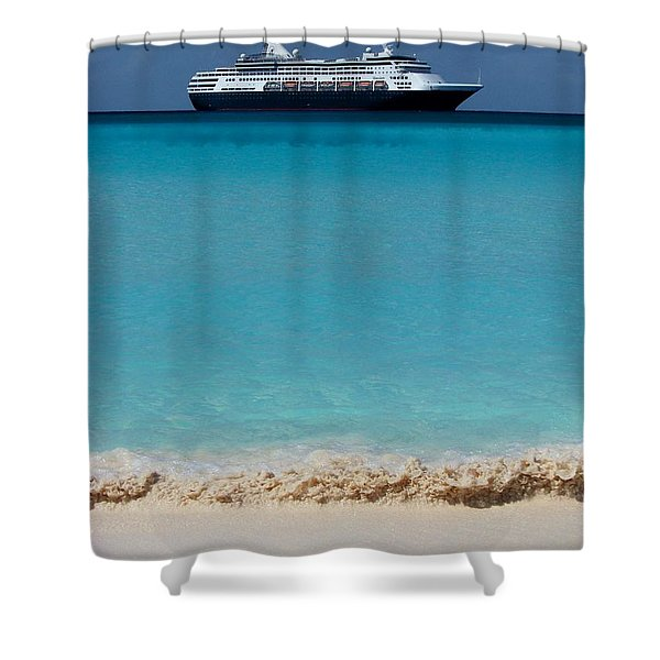 Beckoning Shower Curtain by KAREN WILES