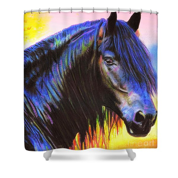 Bella Shower Curtain by WBK