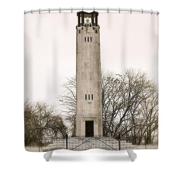 Belle Ilse Light  Shower Curtain by Michael Peychich