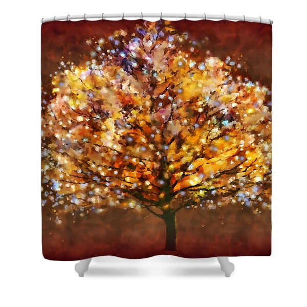 Bewitched Shower Curtain by Valerie Anne Kelly