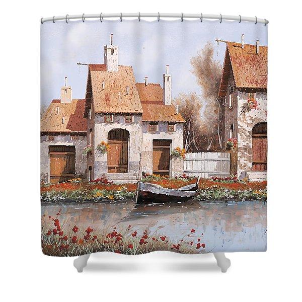 Bianca Shower Curtain by Guido Borelli