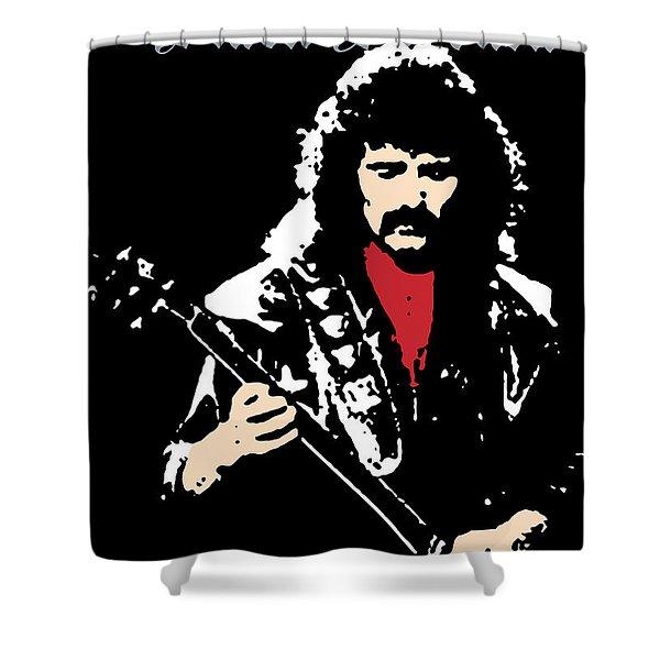 Black Sabbath No.02 Shower Curtain by Caio Caldas