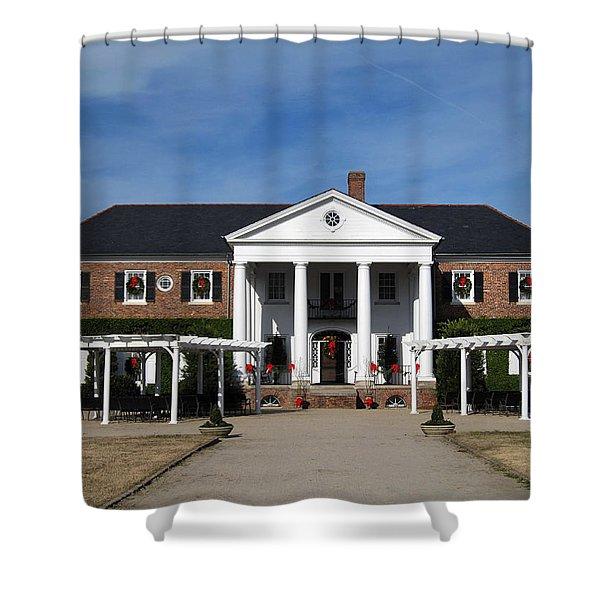 Boone Hall Plantation Charleston Sc Shower Curtain by Susanne Van Hulst