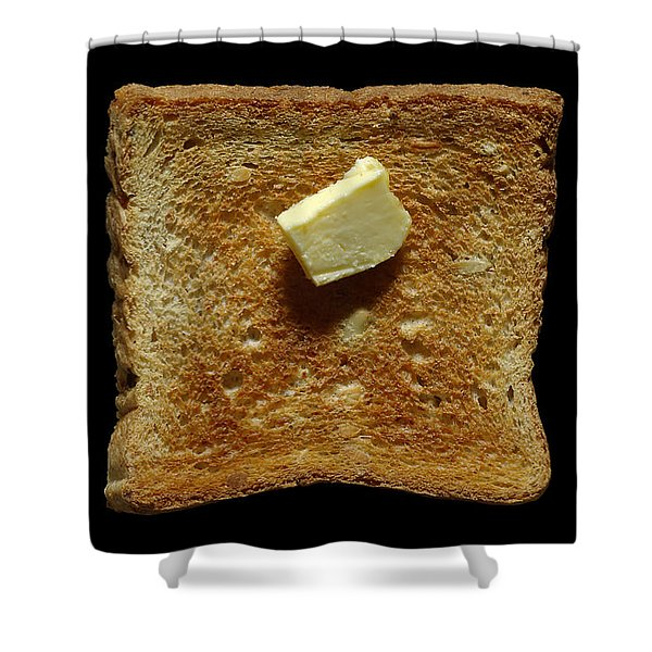 - Bread And Butter Shower Curtain by Frank Tschakert