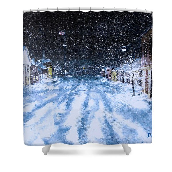 Call out the Plows Shower Curtain by Jack Skinner