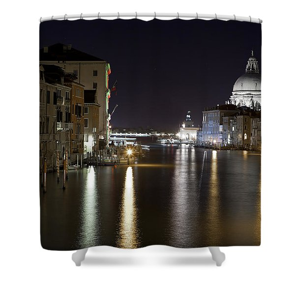 Canal Grande - Venice Shower Curtain by Joana Kruse