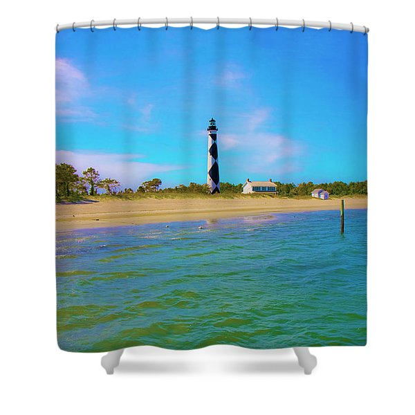 Cape Lookout 1 Shower Curtain by Betsy C  Knapp