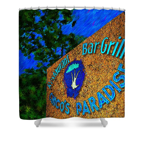 Chico's Paradise Shower Curtain by Paul Wear