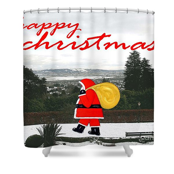 CHRISTMAS 23 Shower Curtain by Patrick J Murphy