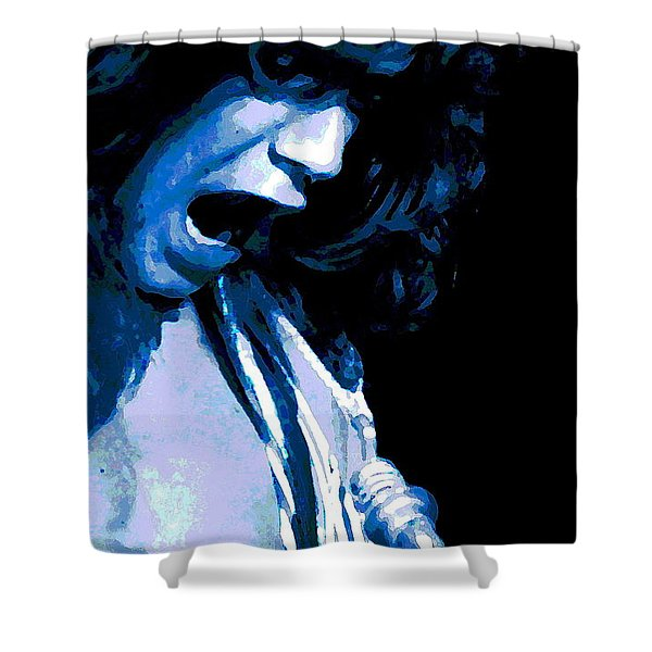Close Up With Eddie Shower Curtain by Ben Upham