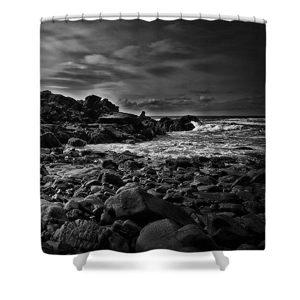 Coastal Home  Kennebunkport Maine Shower Curtain by Bob Orsillo