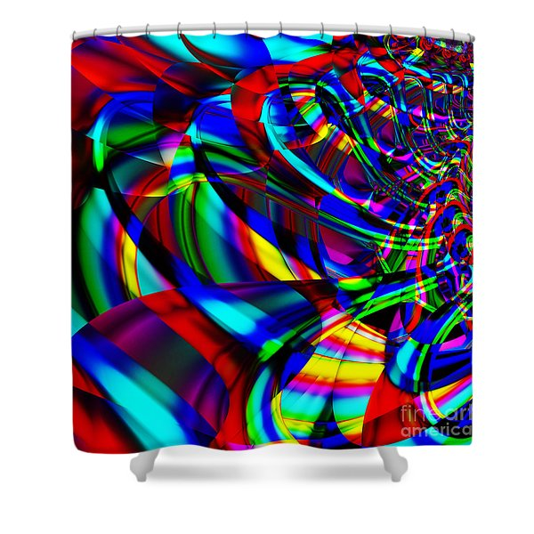 Contradictions . S14.S15 Shower Curtain by Wingsdomain Art and Photography