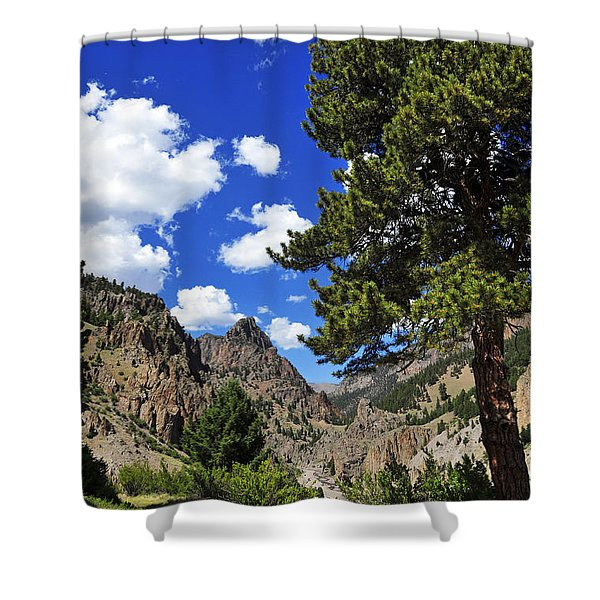 Creede Shower Curtain by Skip Hunt