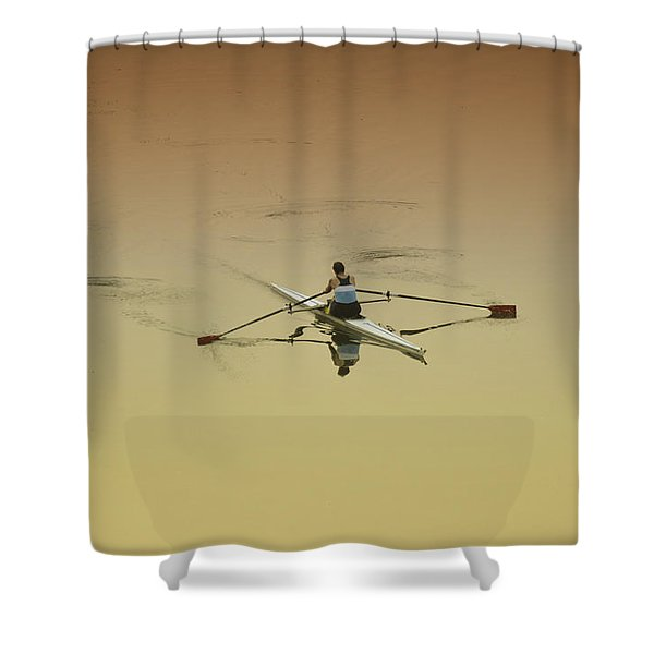Crew Shower Curtain by Bill Cannon