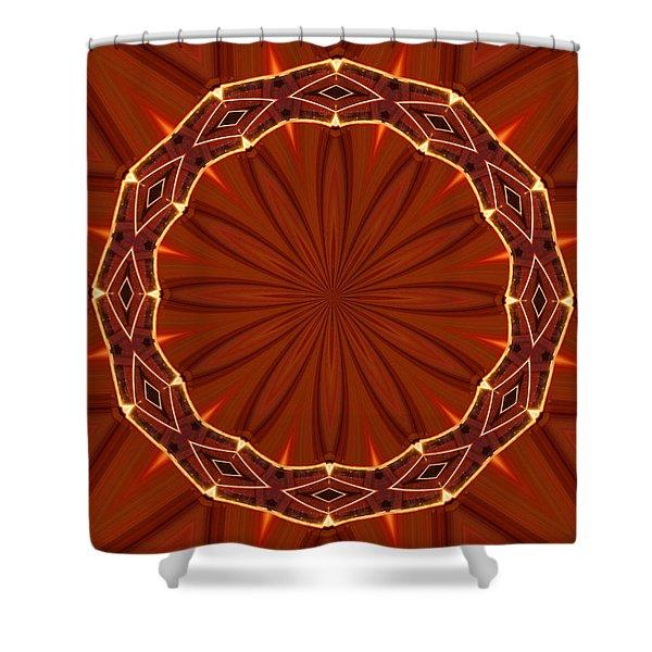 Crown of Thorns Shower Curtain by Kristin Elmquist