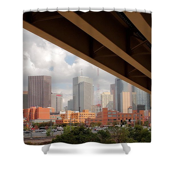 Dallas Backside Shower Curtain by Robert Frederick