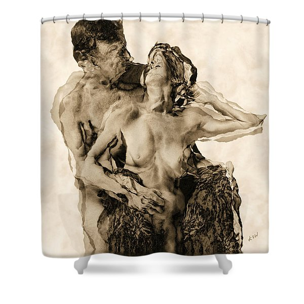 Dance Shower Curtain by Kurt Van Wagner