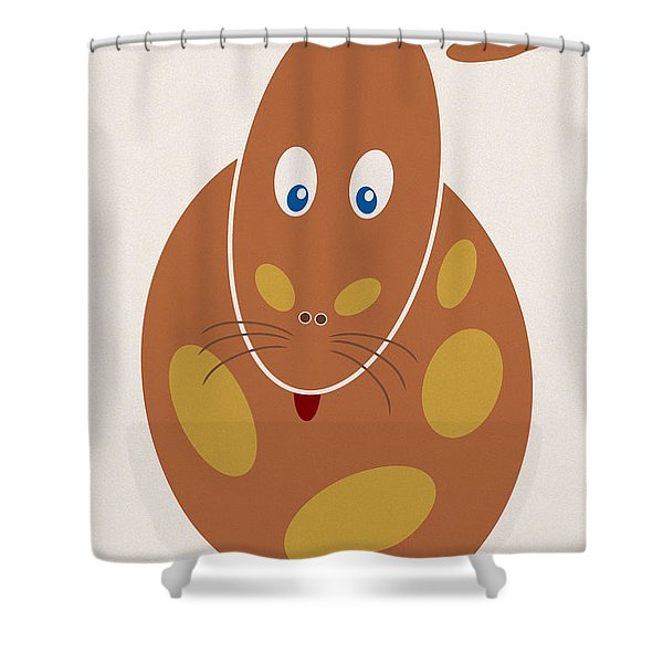 - Dangerous Animal Shower Curtain by Frank Tschakert
