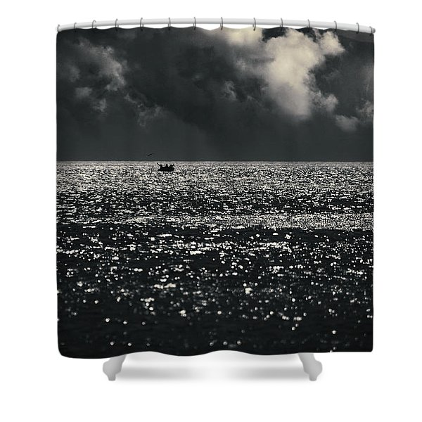 Delusion Shower Curtain by Taylan Soyturk