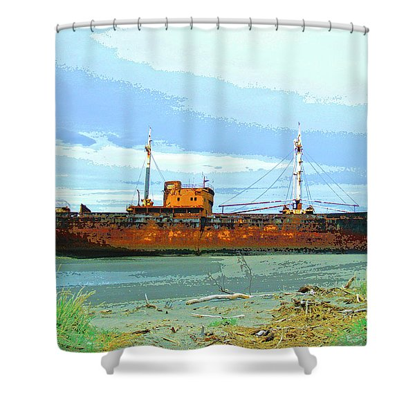 Desdemona 3 Shower Curtain by Dominic Piperata