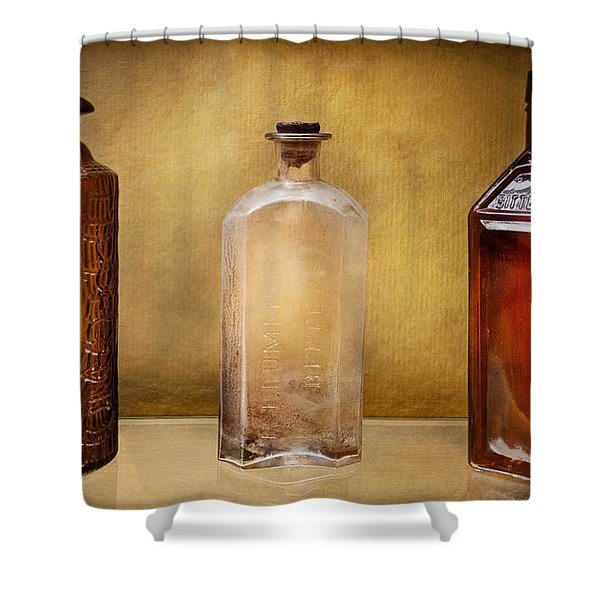 Doctor - Bitters  Shower Curtain by Mike Savad