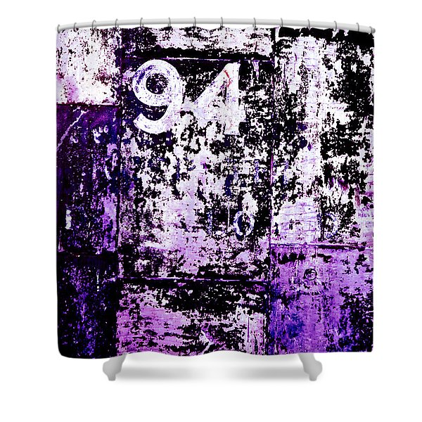 Door 94 Perception Shower Curtain by Bob Orsillo