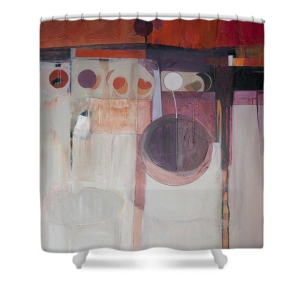 Drama Shower Curtain by Marlene Burns