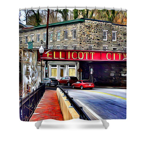 Ellicott City Shower Curtain by Stephen Younts