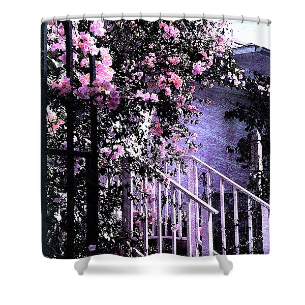 Endless Summer Shower Curtain by Susanne Van Hulst