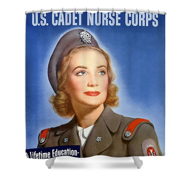 Enlist In A Proud Profession Shower Curtain by War Is Hell Store
