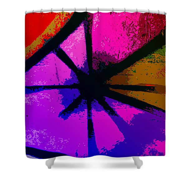Eye Of The Beholder Shower Curtain by Bill Cannon