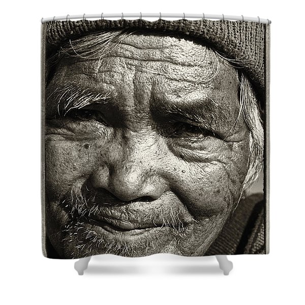 Eyes Of Soul 2 Shower Curtain by Skip Nall