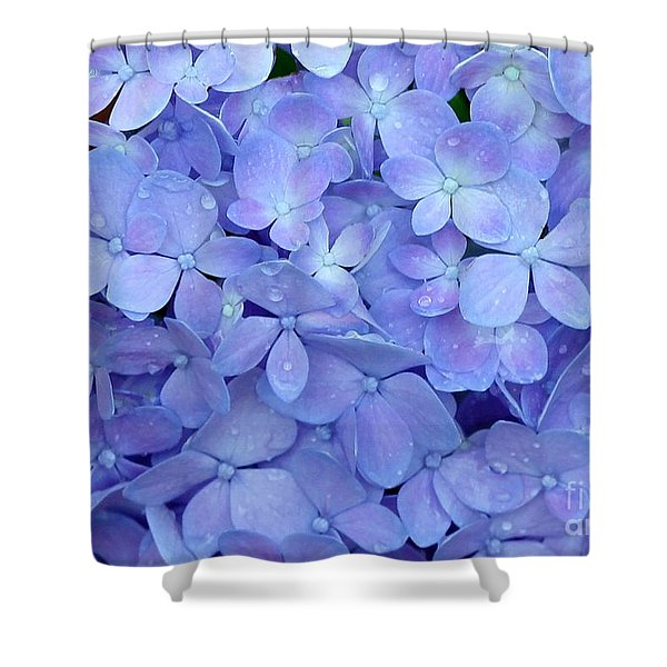 Feeling Blue Shower Curtain by Sabrina L Ryan