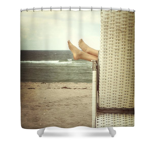 feet Shower Curtain by Joana Kruse