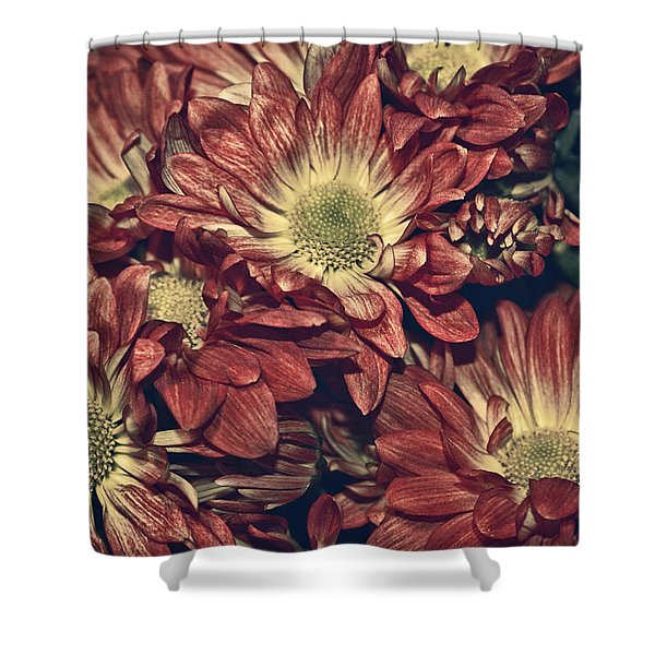 Foulee de petales - 04b Shower Curtain by Variance Collections