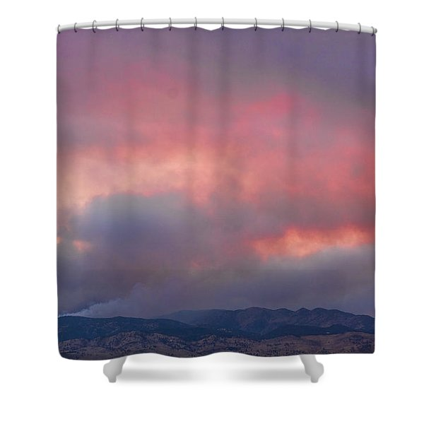 Fourmile Canyon Fire Image 90 Shower Curtain by James BO  Insogna