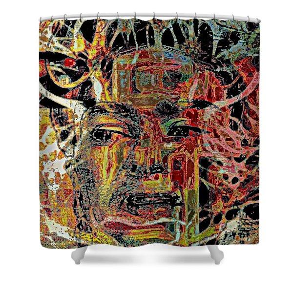 Frida Shower Curtain by WBK