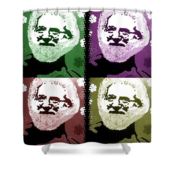 Garcia Seein Double Shower Curtain by Robert Margetts