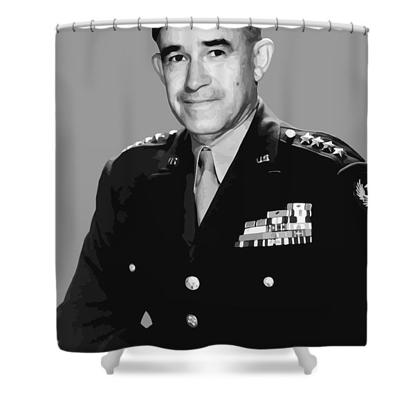 General Bradley Shower Curtain by War Is Hell Store