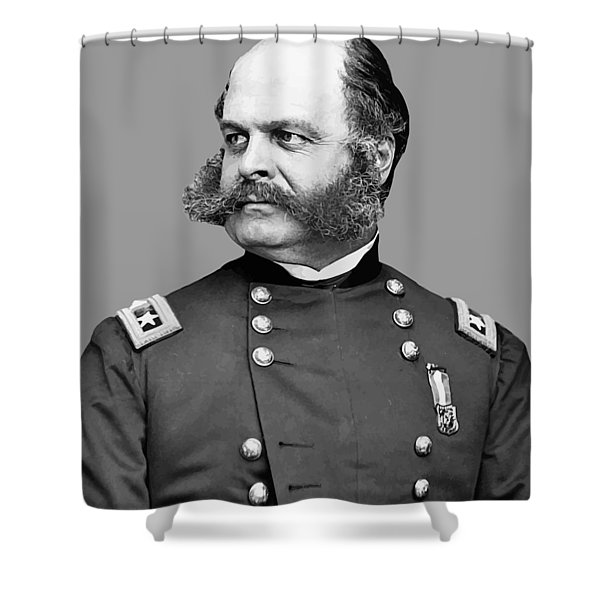 General Burnside Shower Curtain by War Is Hell Store