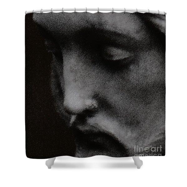 Gethsemane Shower Curtain by Linda Knorr Shafer