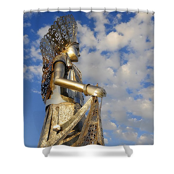 Goddess Isthmus Shower Curtain by Skip Hunt
