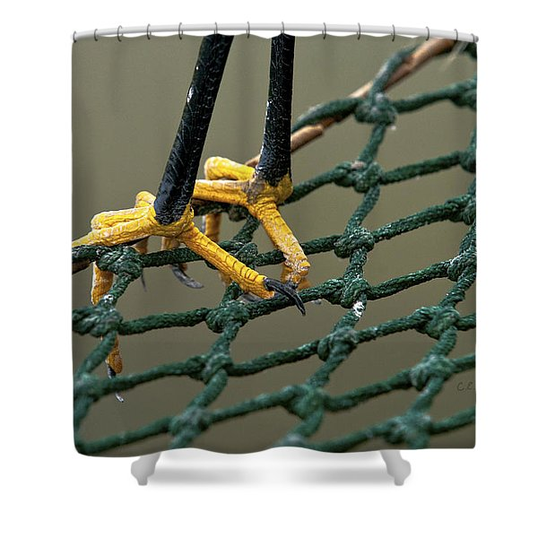 Got A Grip Shower Curtain by Christopher Holmes