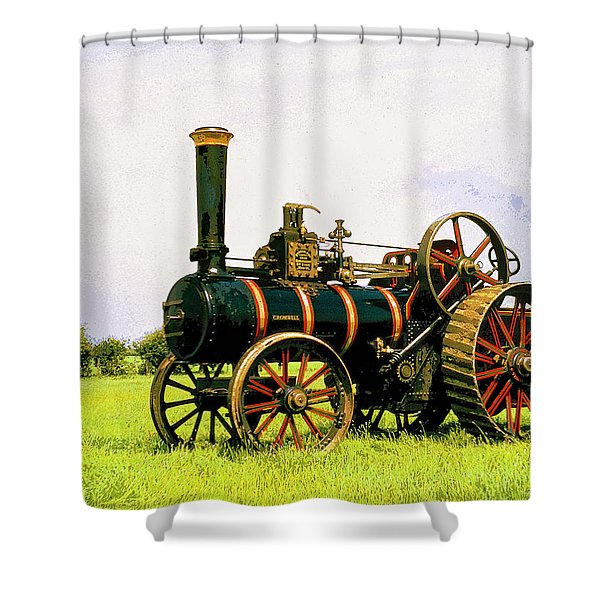 Grazing Shower Curtain by Dominic Piperata