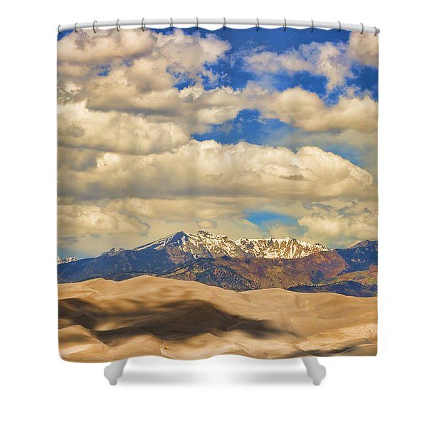 Great Sand Dunes National Monument Shower Curtain by James BO  Insogna