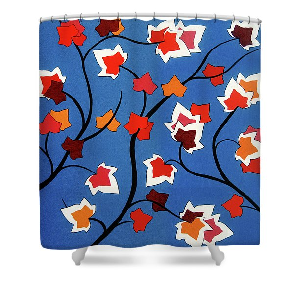 Green Shoots Of Recovery Shower Curtain by Oliver Johnston